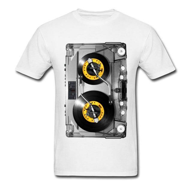 Inside the 80s Cassette T-Shirt - drip4men.com - Mens online fashion store for premium denim jeans and urban streetwear.