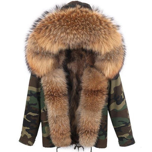 Thick Fur Choice Camouflage Jacket - drip4men.com - Mens online fashion store for premium denim jeans and urban streetwear.