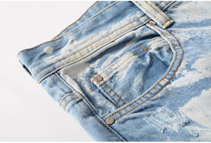 3 Choices Flame Denim Jeans - drip4men.com - Mens online fashion store for premium denim jeans and urban streetwear.
