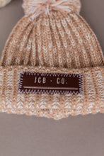 Load image into Gallery viewer, pompom beanie - tan
