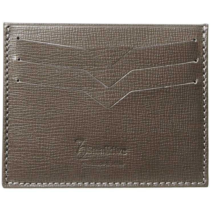 Saffiano Credit Card Wallet Olive