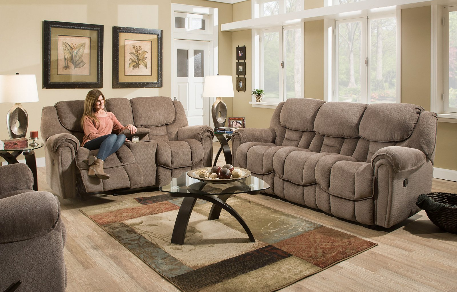 Bennett Reclining Loveseat