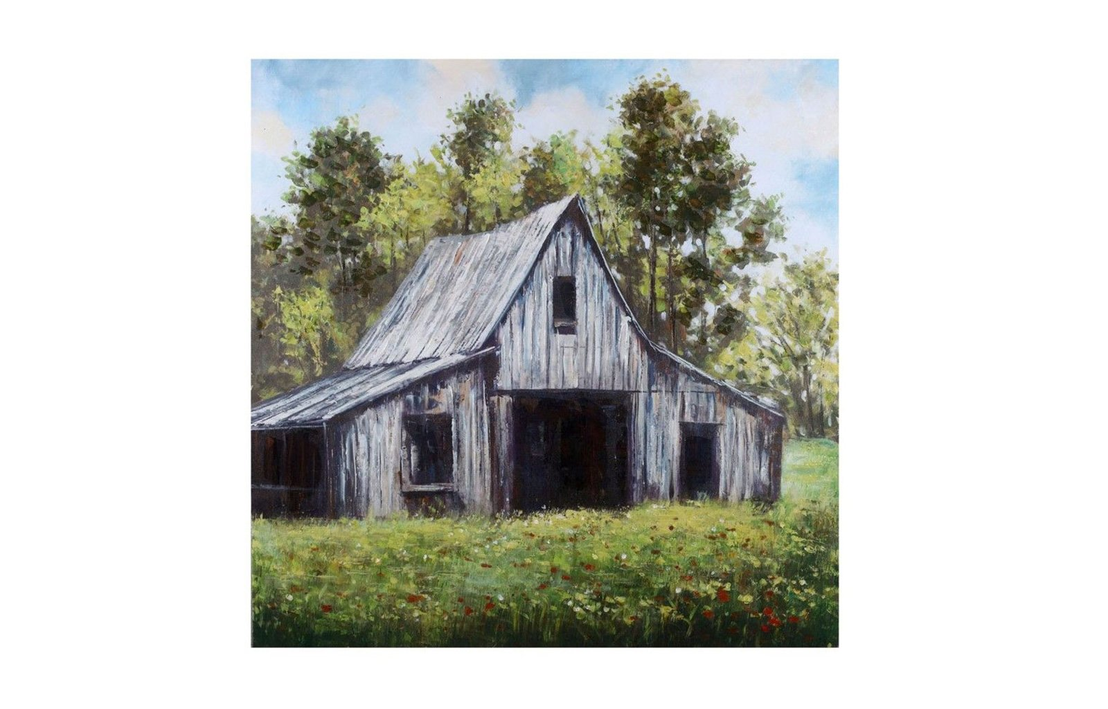 Country Scene Canvas Wall Art