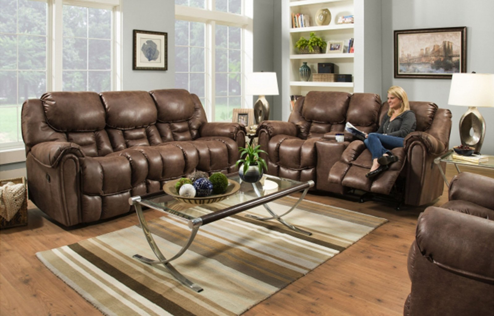 Garrison Reclining Loveseat