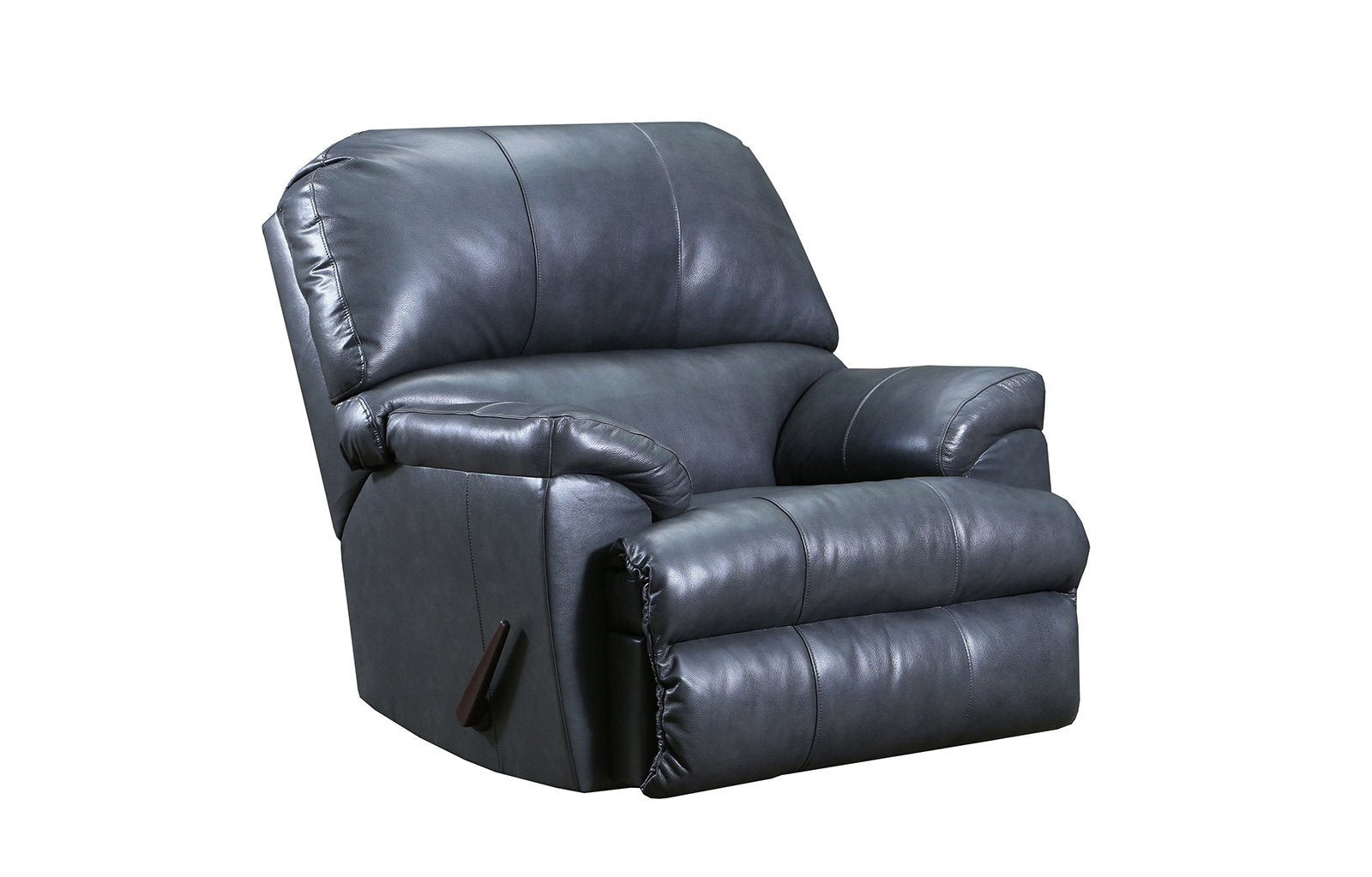 Lane Filbert Leather Rocker Recliner