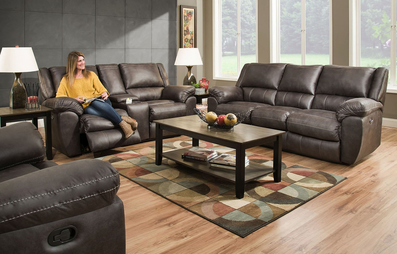 Lane Shiloh Reclining Loveseat