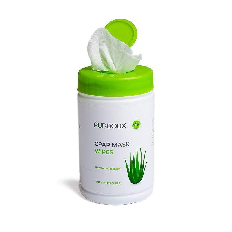 CPAP MASK WIPES WITH ALOE VERA (UNSCENTED) = Min Order Six Canister - MEDRelief