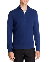 Bloomingdale's Quarter-zip Merino Sweater
