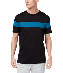 Calvin Klein Mens Colorblocked Basic T-Shirts