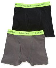 Calvin Klein Boys or Little Boys 2-Pack Bo GreyBlack L 1214