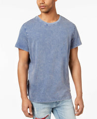 Jaywalker 159022 Ellwood Men'S Short Sleeve Washed Blue T-Shirts