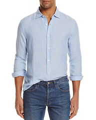 Bloomingdale'S Men Linen Woven Shirt