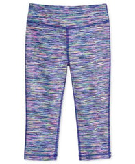 Ideology Space Dye-Print Capri Leggings