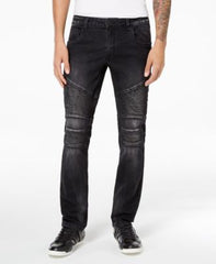 Inc International Concepts Mens Stretch Moto Skinny Jeans