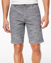 Inc International Concepts Mens Flat-Front Texture-Stripe Shorts