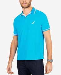Nautica Mens Short Sleeve Navtech Polo Shirt