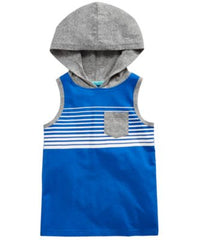 Epic Threads Striped Hooded Tank Top