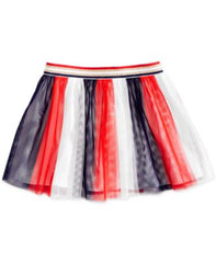 Epic Threads Striped Tulle Skirt