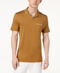 Michael Kors Mens Piped Fine Polo Tshirt