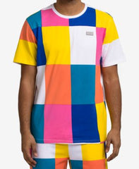 Hudson/Maxima Nyc Men'S Tile-Print T-Shirts
