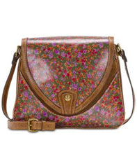 Patricia Nash Multicolor Alimena Flap Crossbody Hand Bag