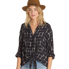 Billabong Cozy Nights Top - Black