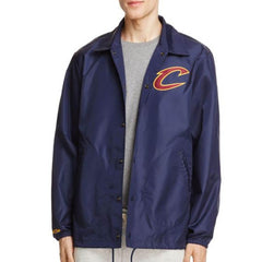 Mitchell & Ness Cleveland Cavaliers Bomber Jacket - Navy