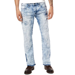Buffalo David Bitton Bleached Ripped Denim Jeans