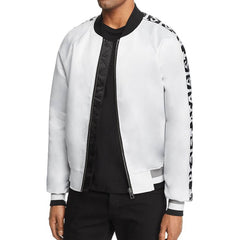 Eleven Paris Resist Bomber Jacket - White
