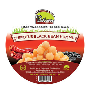 Chipotle Black Beans Hummus