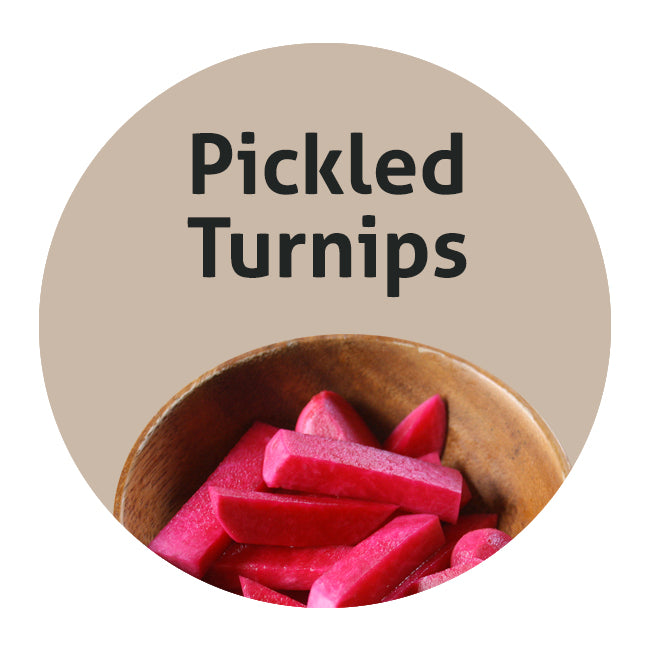 Pickled Turnips