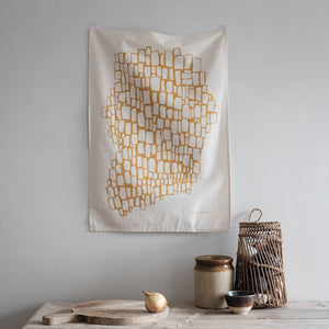 'Ffin' Natural Tea Towel