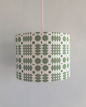 Welsh Blanket Lampshade