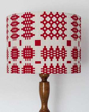 Welsh Blanket Large Print Lampshade