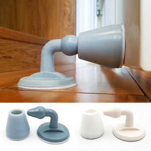 Silicone Self-Adhesive Silent Door Stopper 2PCS