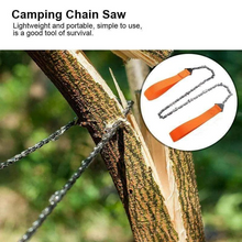Load image into Gallery viewer, Survival Pocket Hand Chain Saw