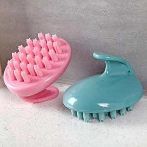 Washing Scalp Multi-point Massage Soft Silicone Brushes