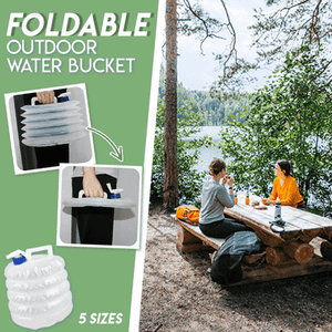 Foldable Outdoor Water Bucket