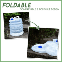 Load image into Gallery viewer, Foldable Outdoor Water Bucket