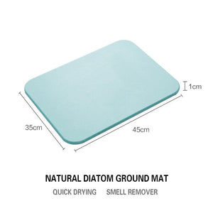 Natural Diatom Mud Absorbent And Quick-drying Mat