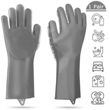 Load image into Gallery viewer, Silicone Cleaning Gloves for Household Kitchen