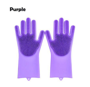 Silicone Cleaning Gloves for Household Kitchen