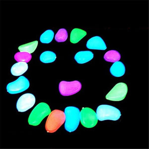 Artificial Luminous Small Stones 100PCS