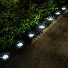 Load image into Gallery viewer, 8PCS Solar Power Buried Stair Light Underground Lamp