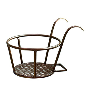 European Style Balcony Flower Stand