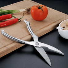 Load image into Gallery viewer, All In One Stainless Kitchen Scissors
