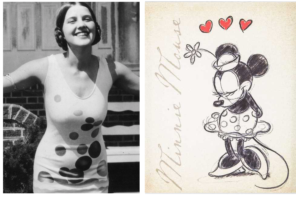 Miss America 1928 & Miss Minnie Mouse