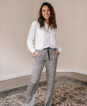 Panterprint broek LE PARIS