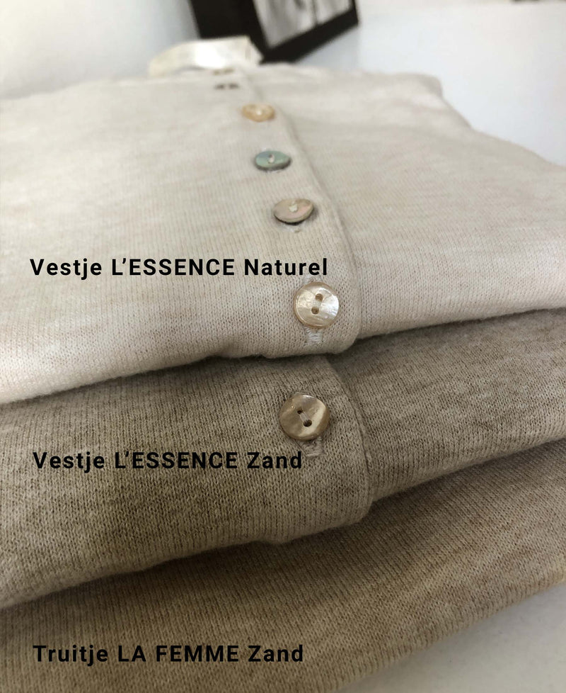 Vestje L' ESSENCE Naturel