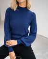 Turtleneck sweater LA SALLE Blue